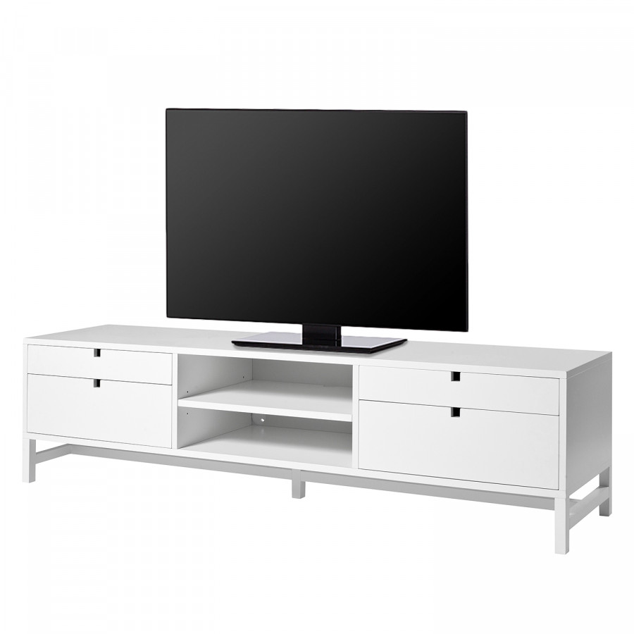 tv bank falsterbo iii birke teilmassiv home24. Black Bedroom Furniture Sets. Home Design Ideas