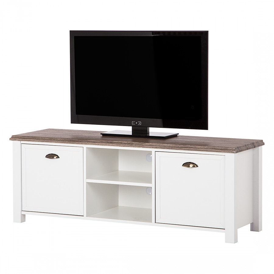 tv lowboard chateau wei eiche sanremo dekor. Black Bedroom Furniture Sets. Home Design Ideas