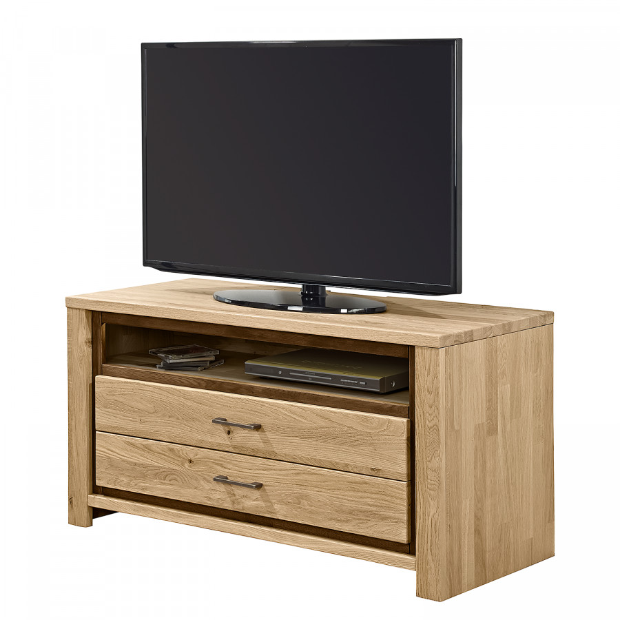 tv lowboard oakland eiche massiv home24. Black Bedroom Furniture Sets. Home Design Ideas