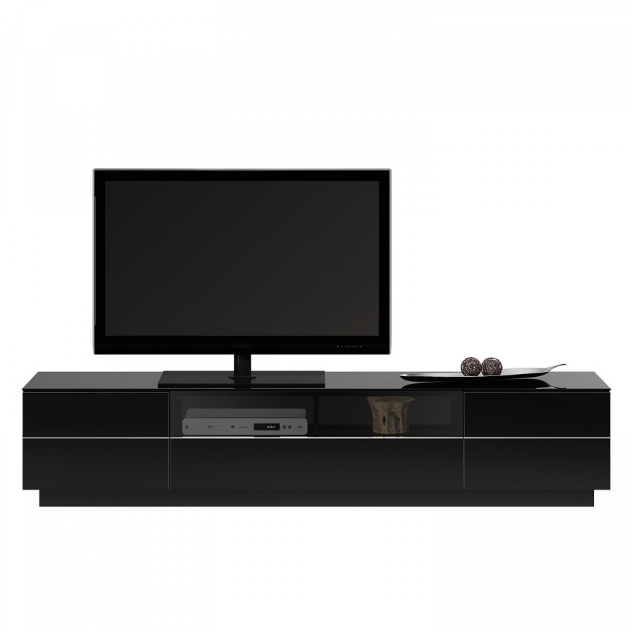 tv lowboard tl 6202 hochglanz schwarz home24. Black Bedroom Furniture Sets. Home Design Ideas