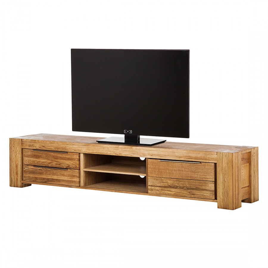 buffet bas tv tomano bois massif ch ne. Black Bedroom Furniture Sets. Home Design Ideas