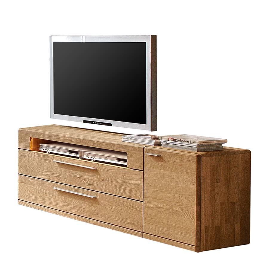 tv lowboard viva ii wildeiche massiv home24. Black Bedroom Furniture Sets. Home Design Ideas