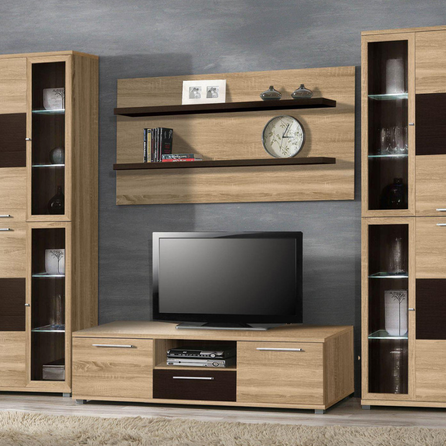 4home lowboard f r ein modernes heim home24. Black Bedroom Furniture Sets. Home Design Ideas