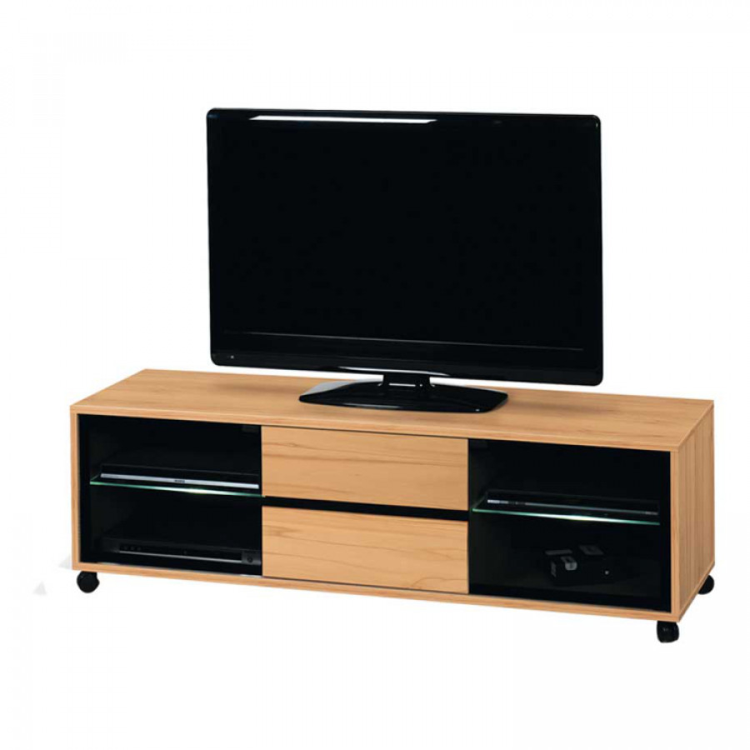 tv tisch alcarizo kernbuche dekor home24. Black Bedroom Furniture Sets. Home Design Ideas