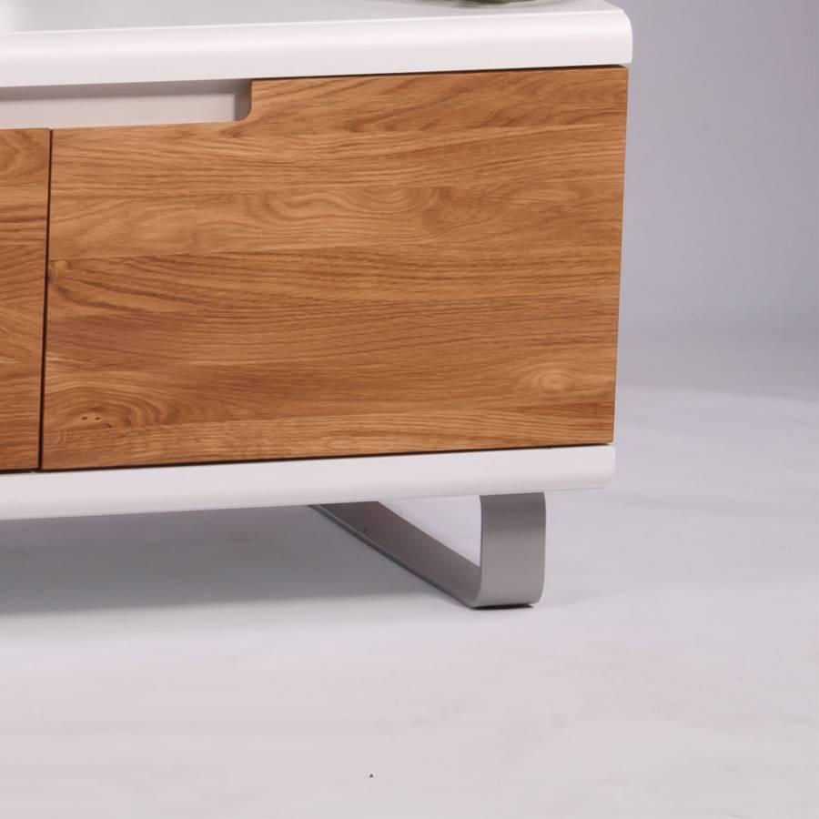 tv tisch paloma wildeiche massivholz mdf home24. Black Bedroom Furniture Sets. Home Design Ideas
