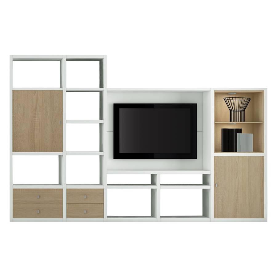 tv wand von loftscape bei home24 bestellen home24. Black Bedroom Furniture Sets. Home Design Ideas