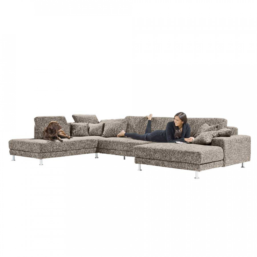 Sofa u form g nstige sofas u form amp couchen u form for Ecksofas u form