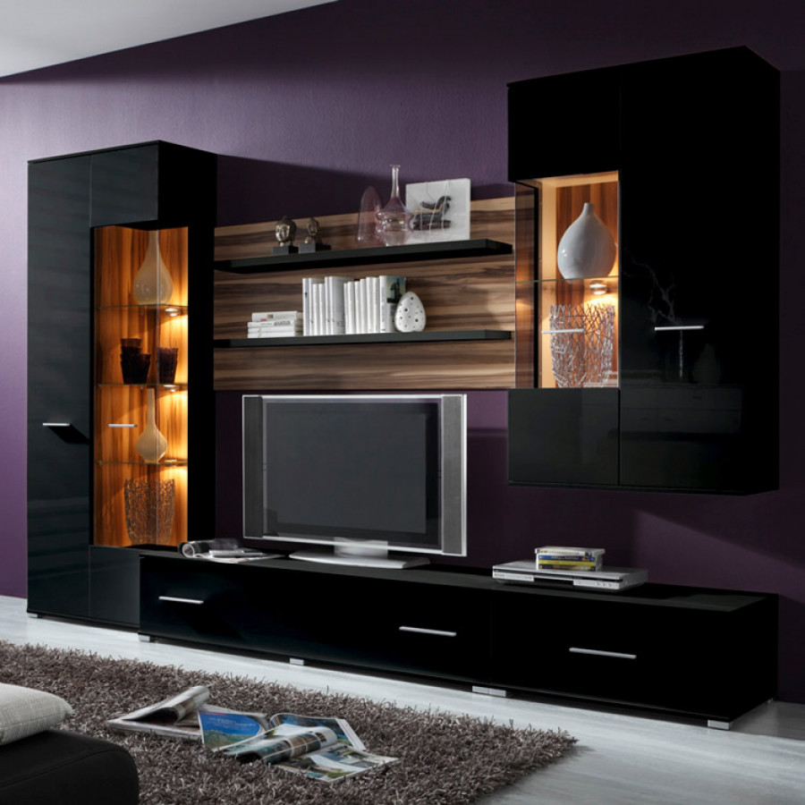 california wohnwand f r ein modernes zuhause home24. Black Bedroom Furniture Sets. Home Design Ideas