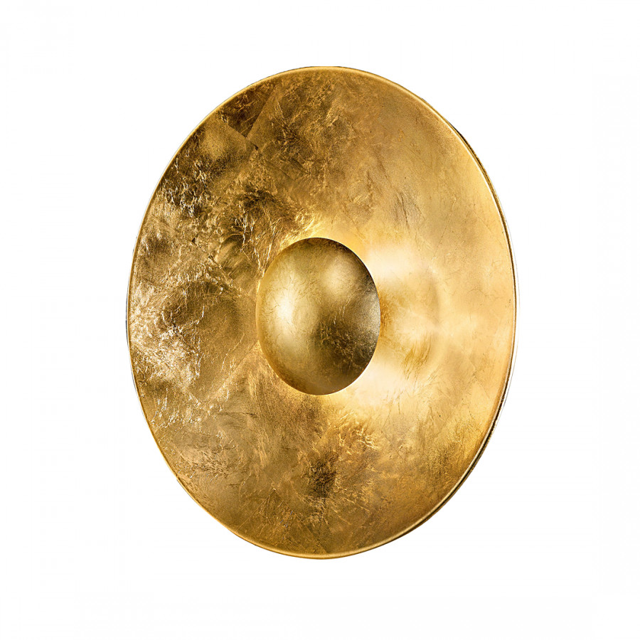 Deckenleuchte aura sol gold metall glas home24 for Deckenleuchte gold