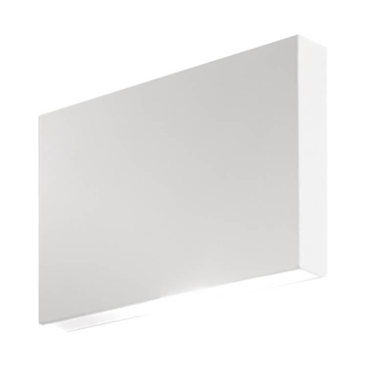 Applique murale led washington aluminium blanc 42 for Applique murale 2 ampoules