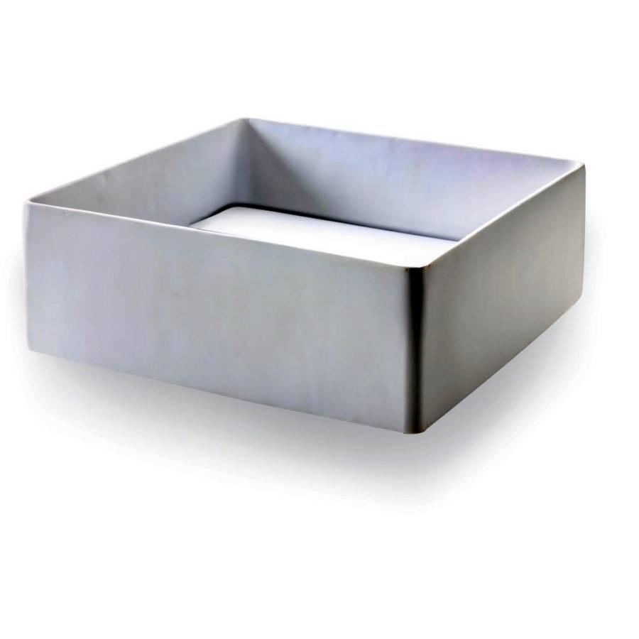 waschbecken schale traboccheto eckig robuster resin. Black Bedroom Furniture Sets. Home Design Ideas