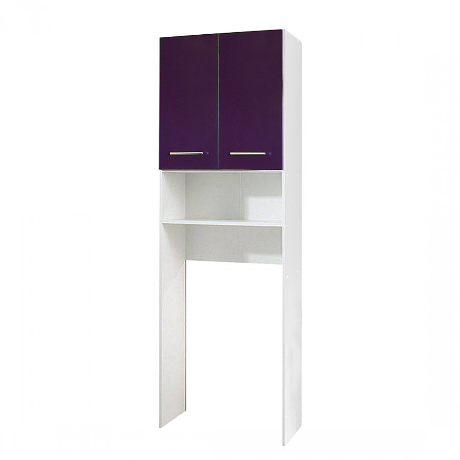 meuble machine laver liane blanc perle aubergine. Black Bedroom Furniture Sets. Home Design Ideas