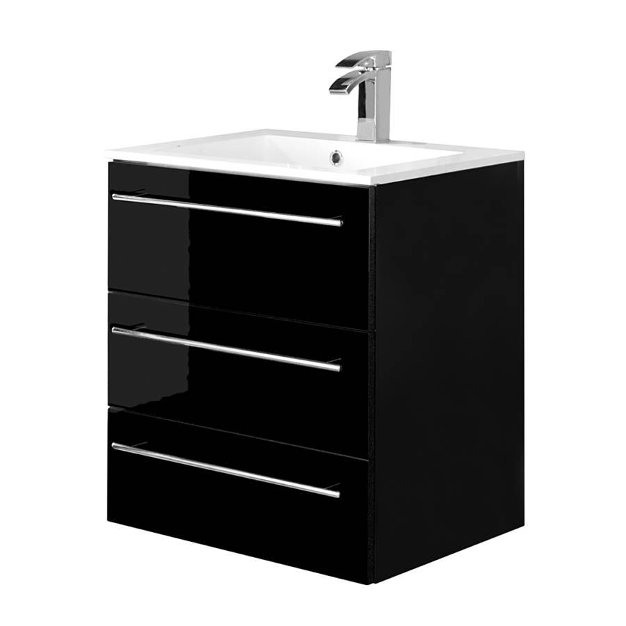 meuble lavabo bern ii noir