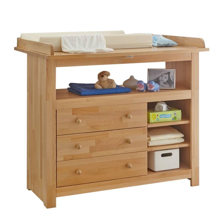 wickelkommode provence buche massiv home24. Black Bedroom Furniture Sets. Home Design Ideas