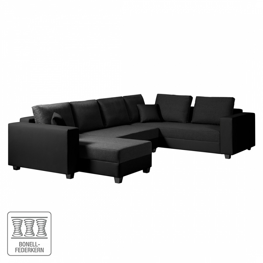 jetzt bei home24 sofa mit schlaffunktion von roomscape. Black Bedroom Furniture Sets. Home Design Ideas
