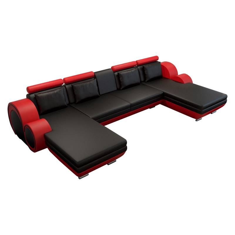 home24 ecksofa mit longchair f r ein modernes zuhause. Black Bedroom Furniture Sets. Home Design Ideas