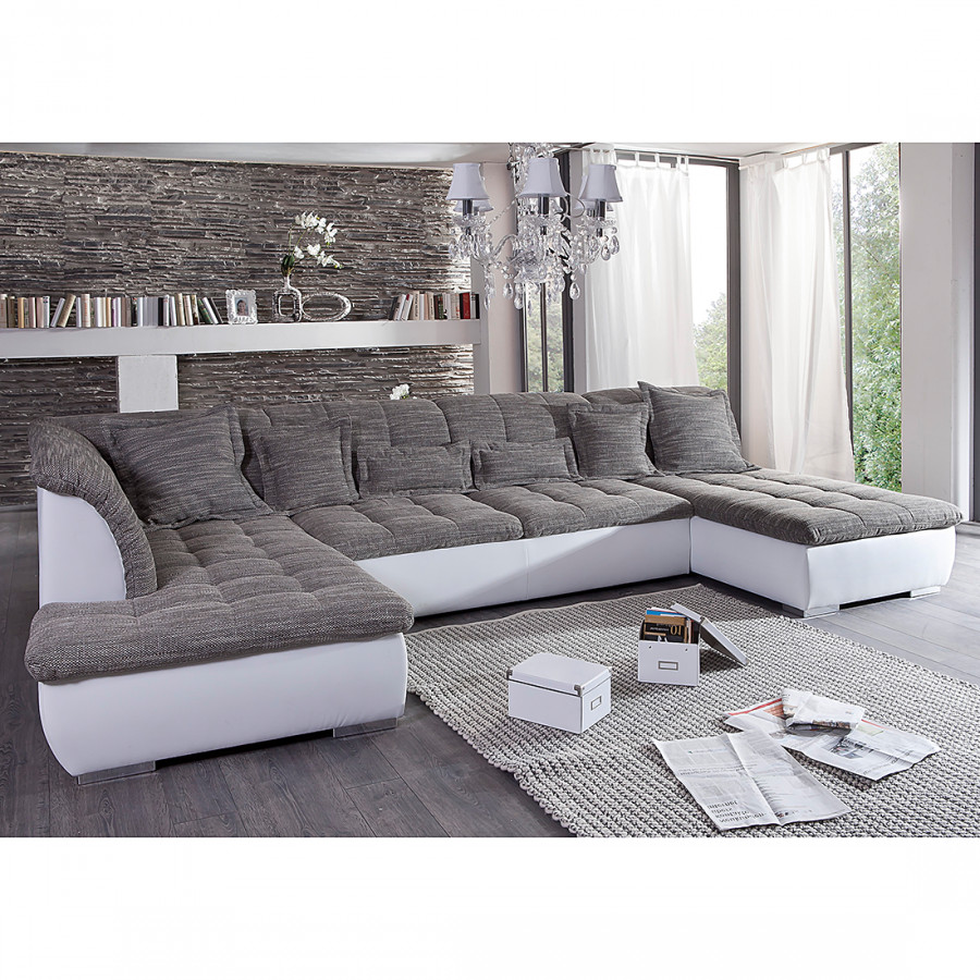 monaco sofa wohnlandschaft f r ein modernes heim home24. Black Bedroom Furniture Sets. Home Design Ideas