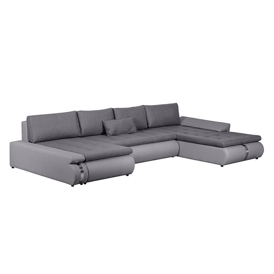 Jetzt bei home24 sofa mit schlaffunktion von roomscape for Wohnlandschaft taupe