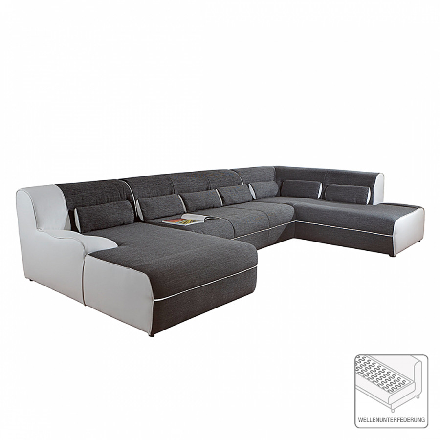 home design sofa wohnlandschaft f r ein modernes heim home24. Black Bedroom Furniture Sets. Home Design Ideas