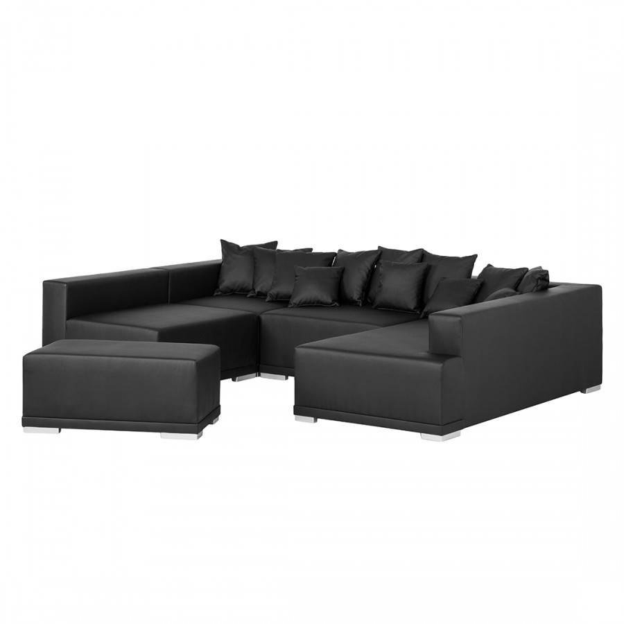 ecksofa mit longchair von roomscape bei home24 kaufen home24. Black Bedroom Furniture Sets. Home Design Ideas