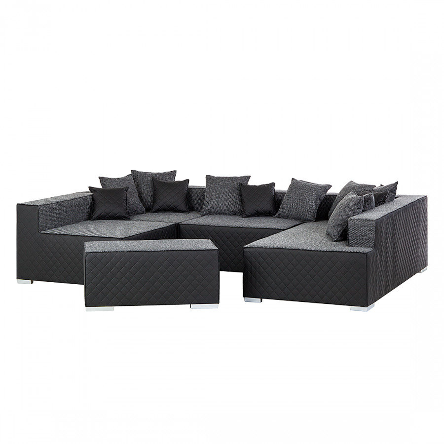 ecksofa mit longchair von roomscape bei home24 bestellen. Black Bedroom Furniture Sets. Home Design Ideas