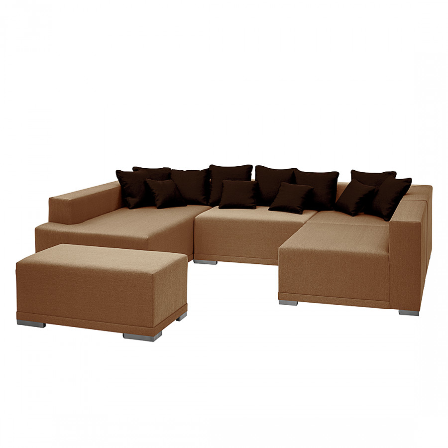 sofa wohnlandschaft von roomscape bei home24 kaufen. Black Bedroom Furniture Sets. Home Design Ideas
