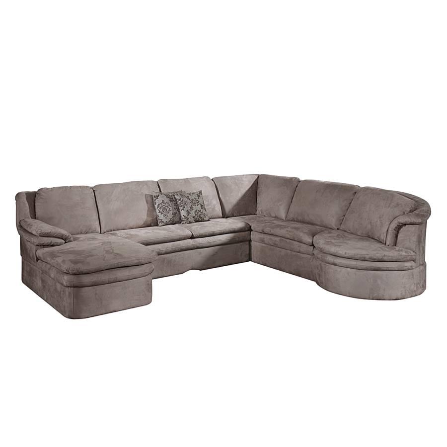 Cotta sofa mit schlaffunktion f r ein modernes heim for Wohnlandschaft taupe