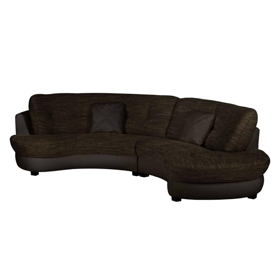 Jetzt bei home24 sofa wohnlandschaft von roomscape home24 for Wohnlandschaft kunstleder braun