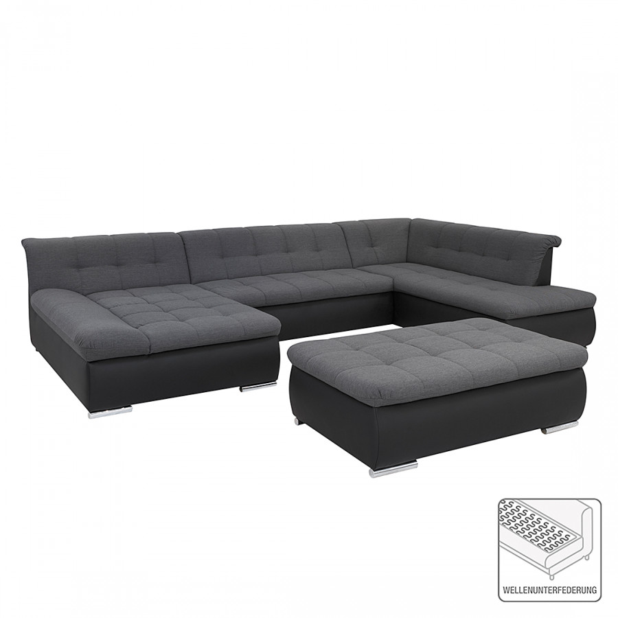 sofa wohnlandschaft von roomscape bei home24 kaufen home24. Black Bedroom Furniture Sets. Home Design Ideas