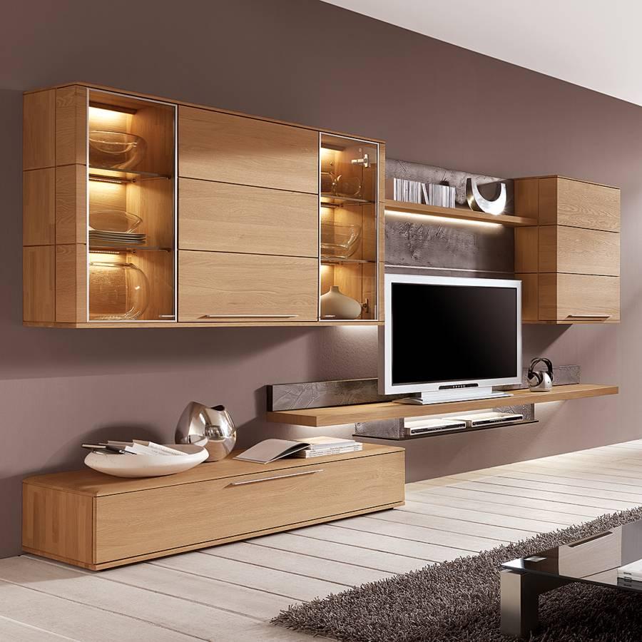 Ensemble meuble tv bois massif solutions pour la for Ensemble meuble