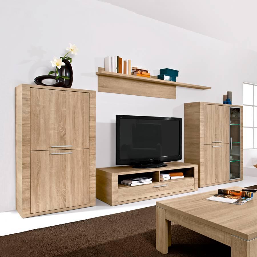 Jetzt bei home24 wohnwand von arte m home24 for Wohnwand 2 teilig