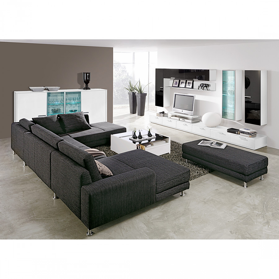 Jetzt bei home24 wohnwand von arte m for Wohnwand konfigurieren