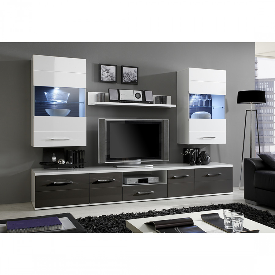 jetzt bei home24 wohnwand von modoform home24. Black Bedroom Furniture Sets. Home Design Ideas