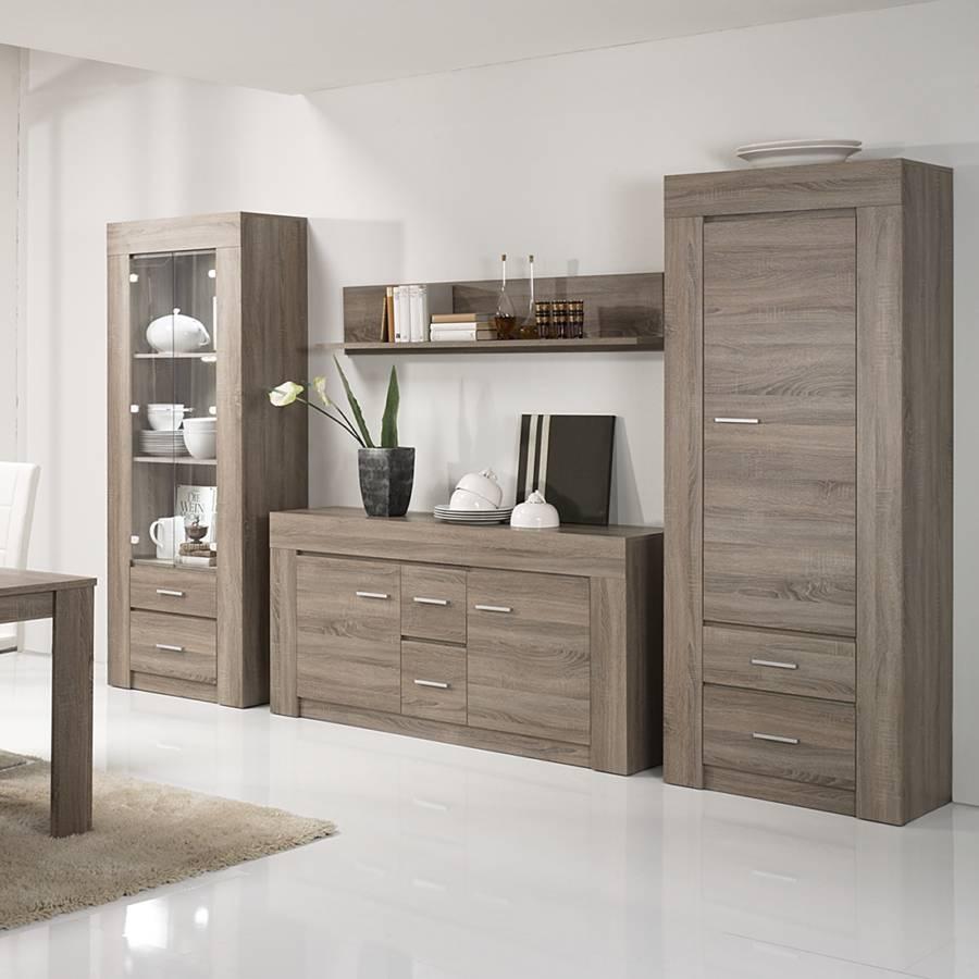 modoform wohnwand f r ein modernes zuhause home24. Black Bedroom Furniture Sets. Home Design Ideas