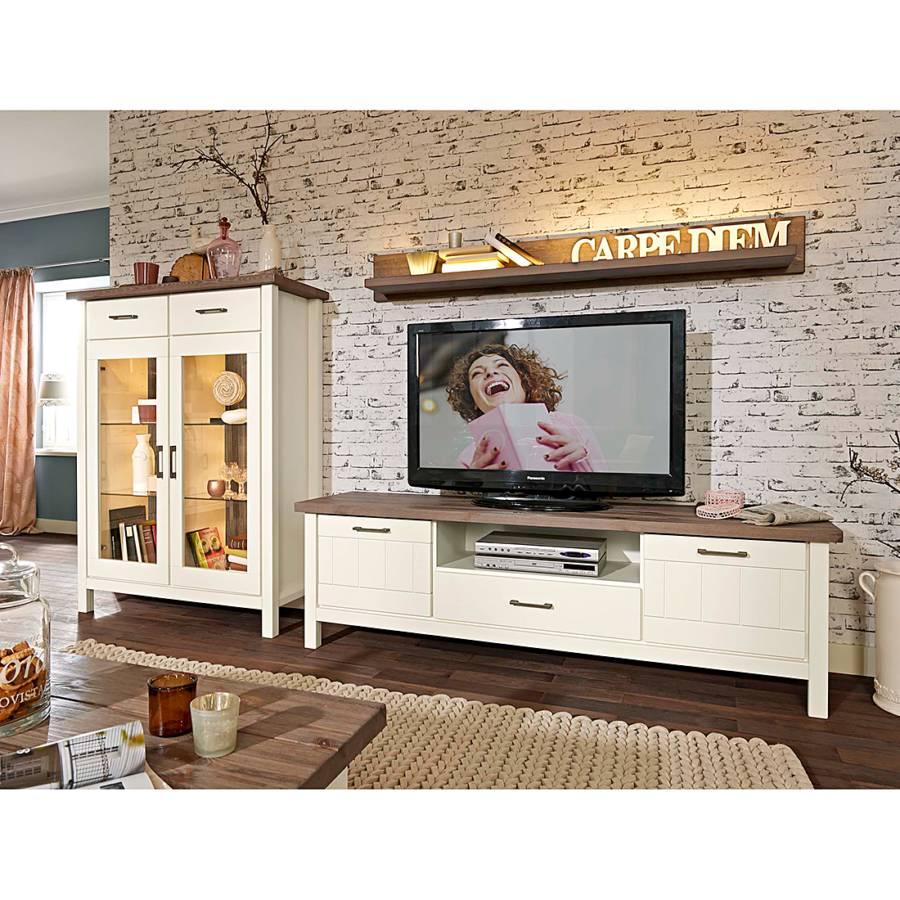 lmie massivholz schrank f r ein l ndliches heim home24. Black Bedroom Furniture Sets. Home Design Ideas