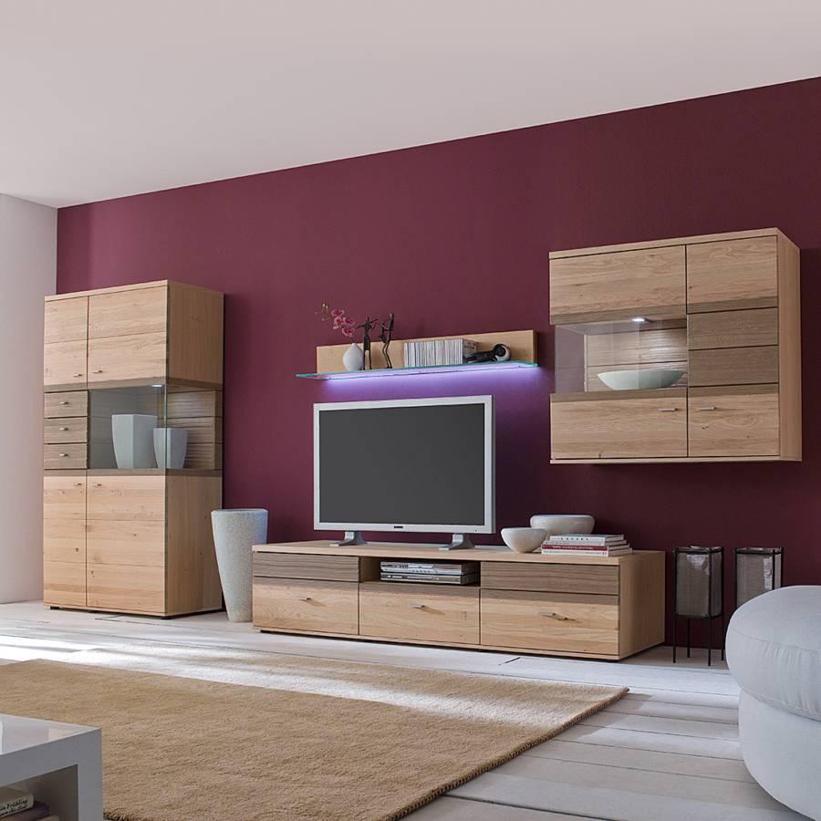 Massivholz schrank von felke bei home24 bestellen home24 for Wohnwand ohne tv element
