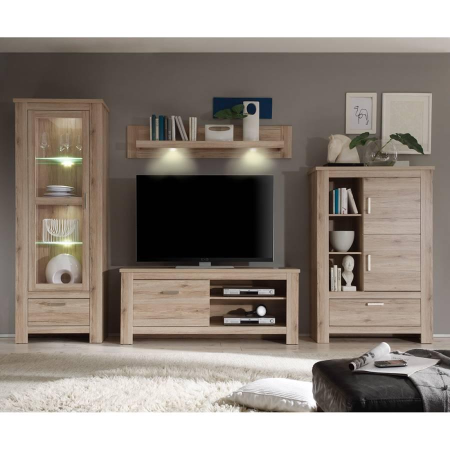 Kerkhoff wohnwand f r ein l ndliches heim home24 for Wohnwand konfigurieren