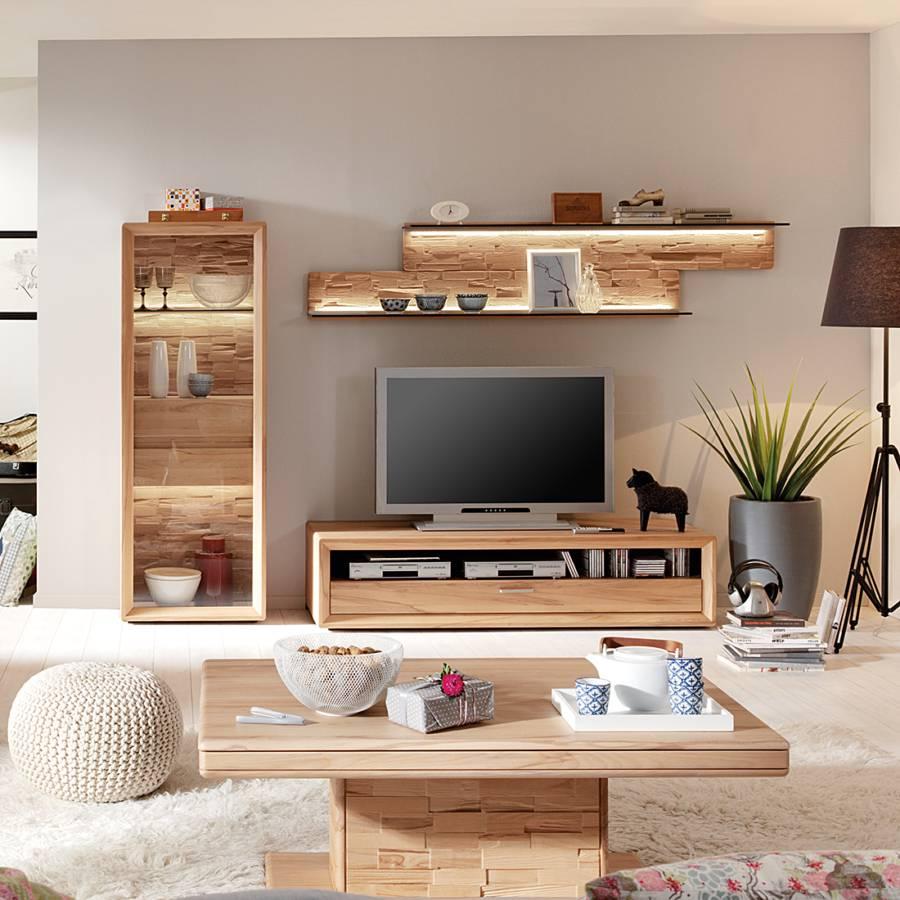 wohnwand massiv angebote auf waterige. Black Bedroom Furniture Sets. Home Design Ideas