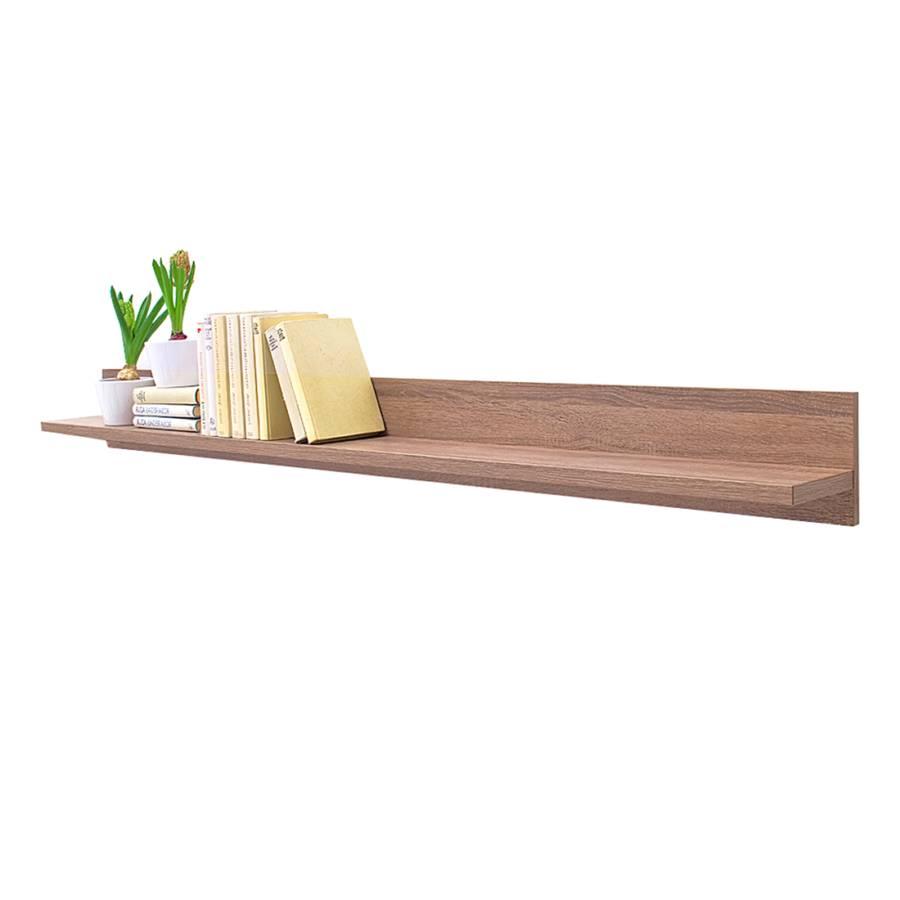 wohnwand weiss hochglanz tr ffel eiche woody 31 00239. Black Bedroom Furniture Sets. Home Design Ideas