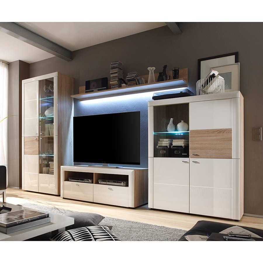 jetzt bei home24 wohnwand von modoform home24. Black Bedroom Furniture Sets. Home Design Ideas