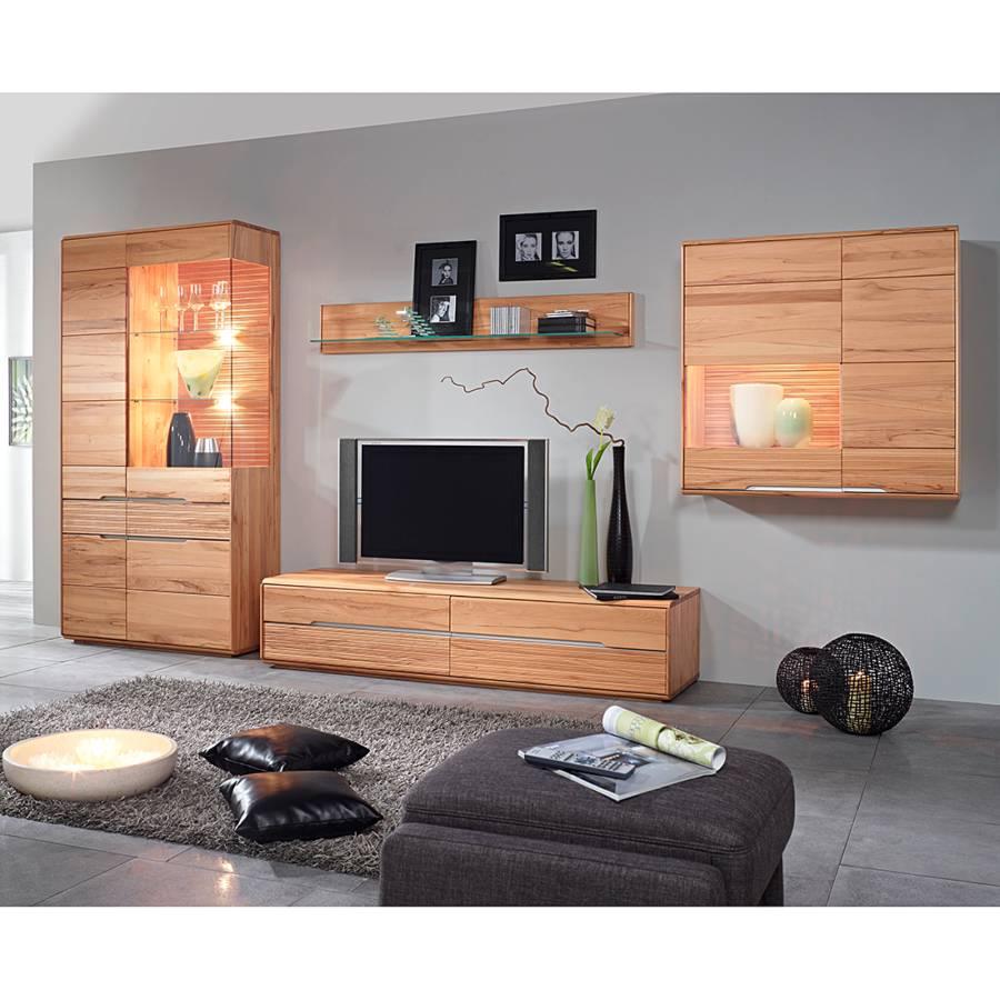 Wohnzimmerschrank Erle Wohnwand Massiv Angebote Auf Waterige