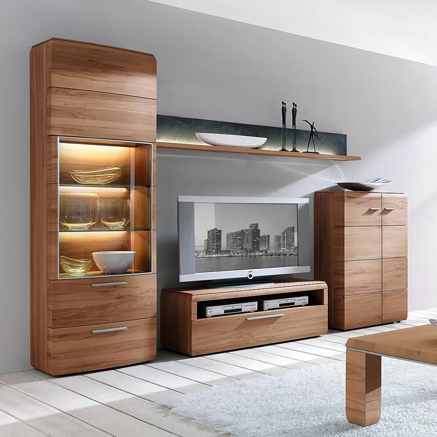 Home24 modernes hartmann massivholz m belst ck for Wohnwand konfigurieren