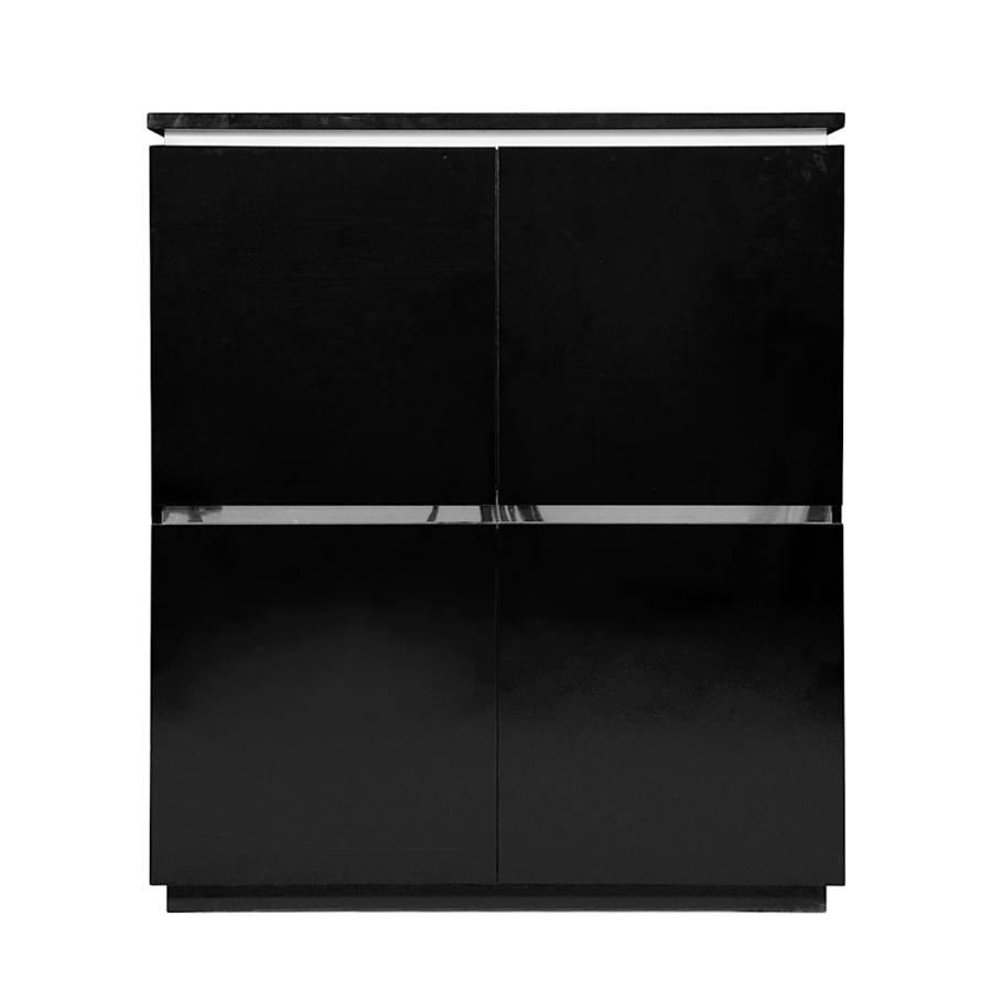 Tollhaus highboard f r ein modernes zuhause home24 for Wohnzimmerschrank schwarz