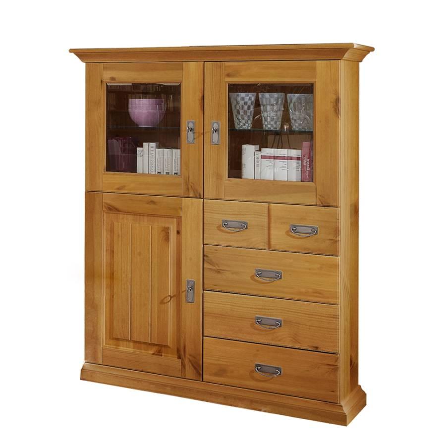 Wohnzimmerschrank Seven - Kiefer Massivholz Kaufen