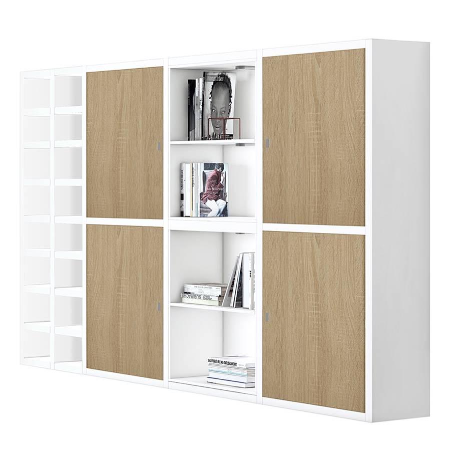 mur d 39 tag res xl emporior ix a avec clairage. Black Bedroom Furniture Sets. Home Design Ideas
