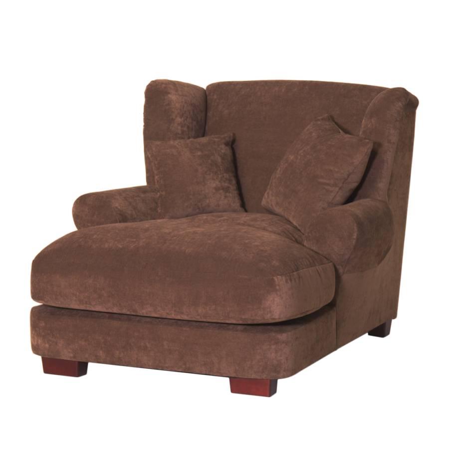 xxl sessel heaven stoff braun home24. Black Bedroom Furniture Sets. Home Design Ideas