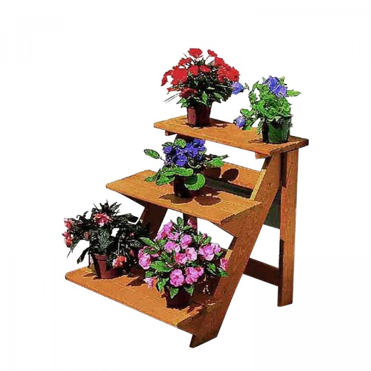 Blumentreppe zwolle klein home24 for Scaletta portavasi