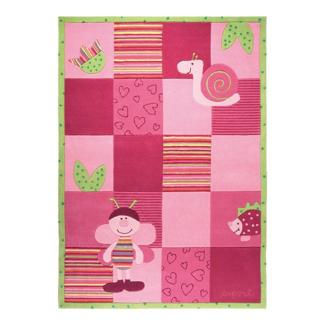 Teppich Kids Collection - Handgetuftet - Pink (70x140cm), Esprit Home