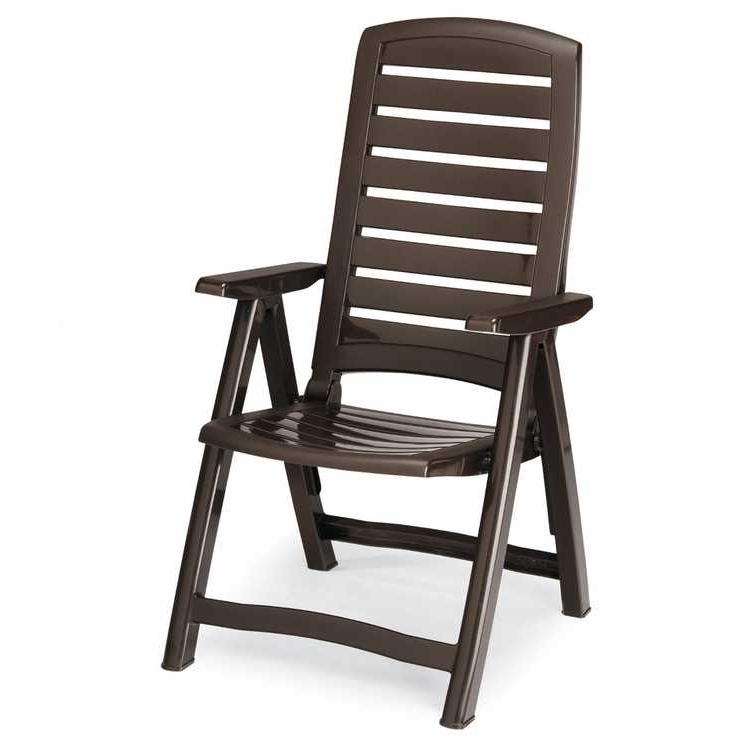 shopping liga m bel profi gartenstuhl santiago klappbar kunststoff braun best. Black Bedroom Furniture Sets. Home Design Ideas