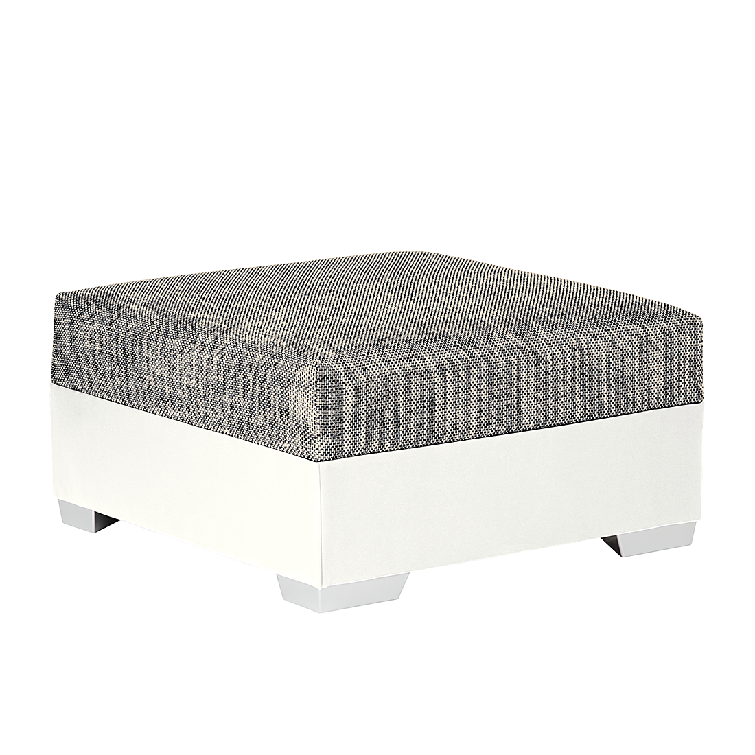 Hocker grau trendy cult living jepsen hocker grau with for Ohrensessel mit hocker grau